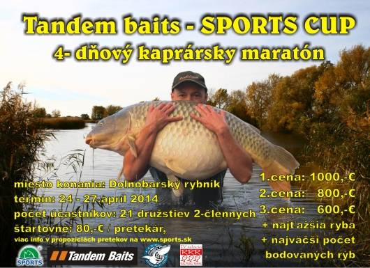 Tandem Baits - SPORTS CUP 24-27.april 2014