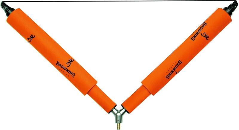 Browning Windguard valcová podpierka s gumou