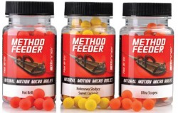 Method/Feeder Natural Motion Fluo Micro Boilies 8mm/40g