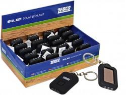 Zebco kľúčenka svietiaca LED solár Výhodné balenie