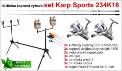 Kaprársky set 234K16 - 2diel/3,6m/2,75lbs