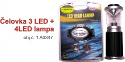 LED lampa + �elovka