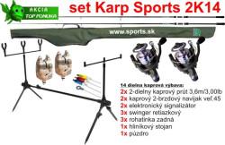 SPORTS 2K14 - Kaprársky 14 dielny set - 3,6m/3lbs