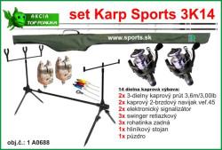 SPORTS 3K14 - Kaprársky 14 dielny set - 3,6m/3lbs