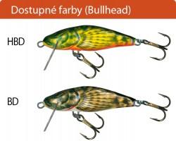 Salmo rybarske voblery  bullhead BD6S