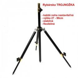 Trojnožka - stojan, dĺžka 27 - 90cm
