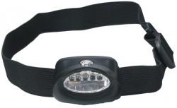 Čelovka Albastar 5 LED diody- čierna