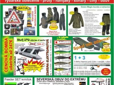 2e3f66124679 Rybarske potreby SPORTS velkosklad - s Vianočnou akciovou ponukou pre  rybarske potreby 1+1