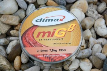 Climax šnúra 135m - miG 8 Braid Olive SB