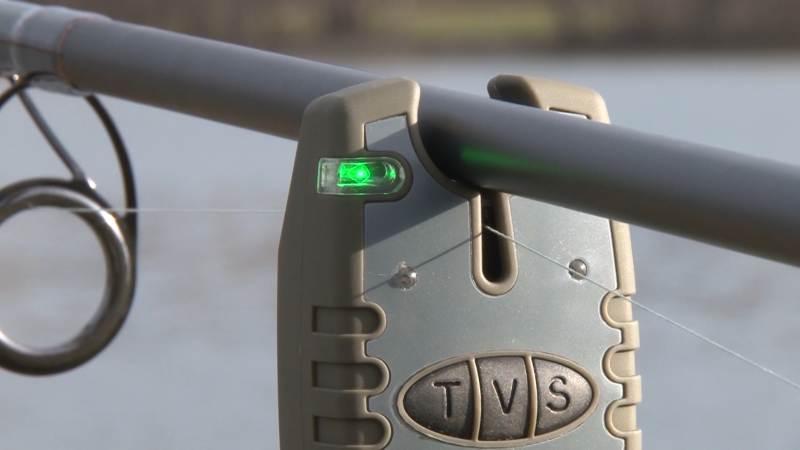 2ks signalizátor záberu + 2 ks rohatinky + 2 ks swinger