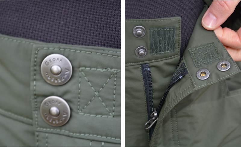 Geoff Anderson BARBARUS - bunda + nohavice - zelená