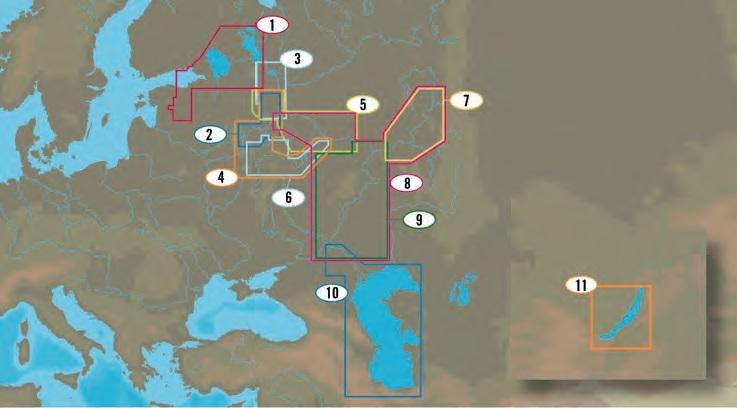 Mapa: 1, Russian Lakes