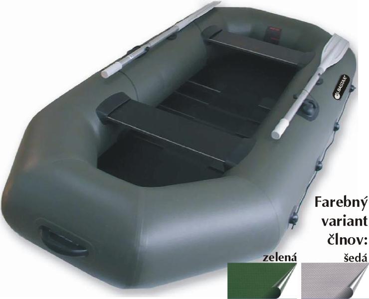 Albastar člny DELTA 260 lamely
