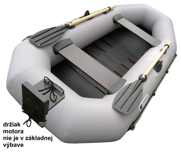 Albastar DELTA 240 lamely + držiak motora