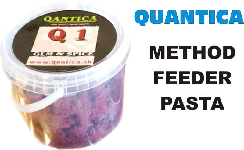 QANTICA Method feeder pasta 1kg Fusion - slivka