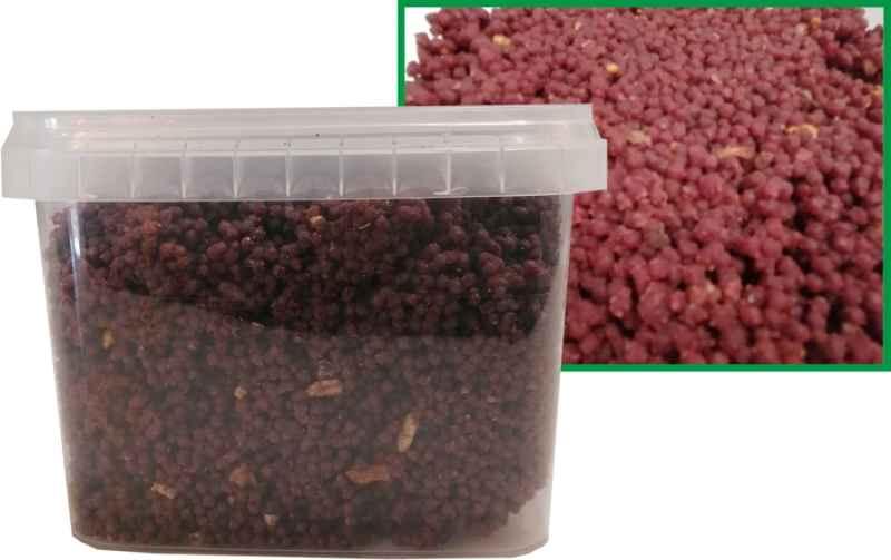 Qantica Method Feeder micro mass Robin red+Halibut 600g