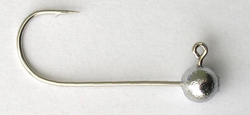 JIG háčik - VMC Guľa bez krčku 11,0g/háčik 4/0, A4cm, B5cm, C1,6cm