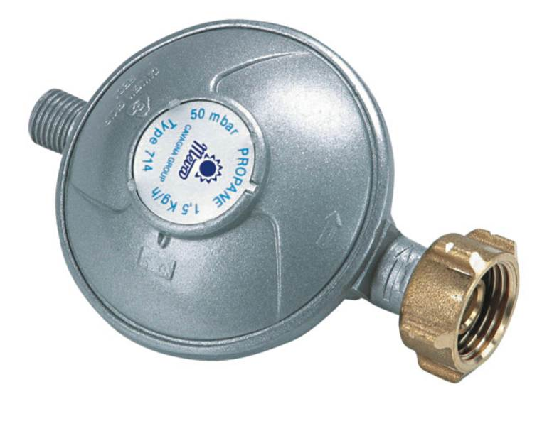 Regulátor tlaku na propán butánovú fľašu