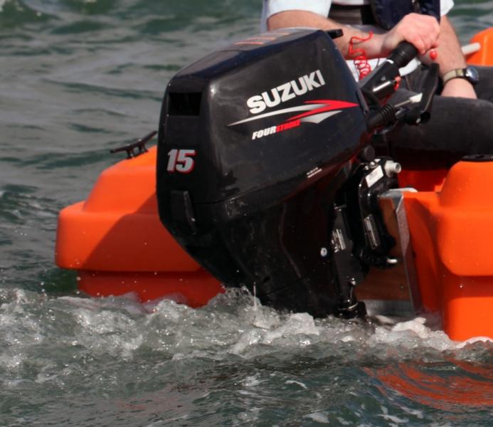 Lodný motor benzínový SUZUKI DF 15A