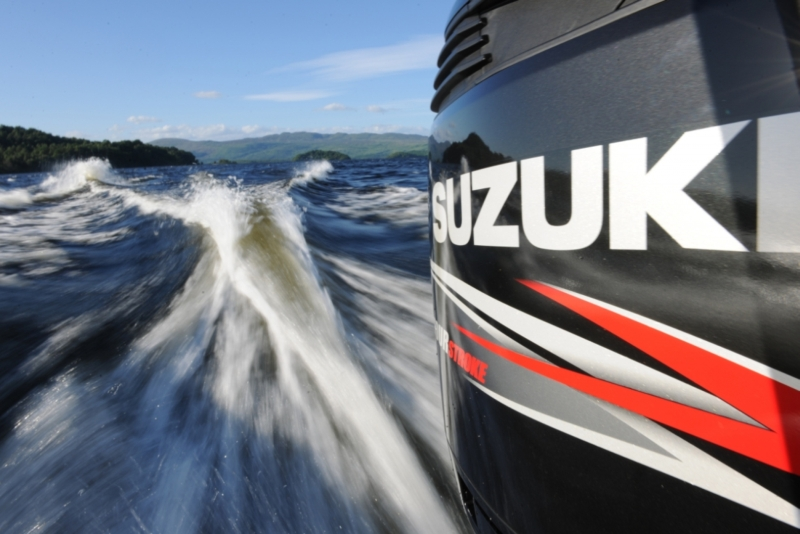 Lodný motor benzínový SUZUKI DF2,5 Hp