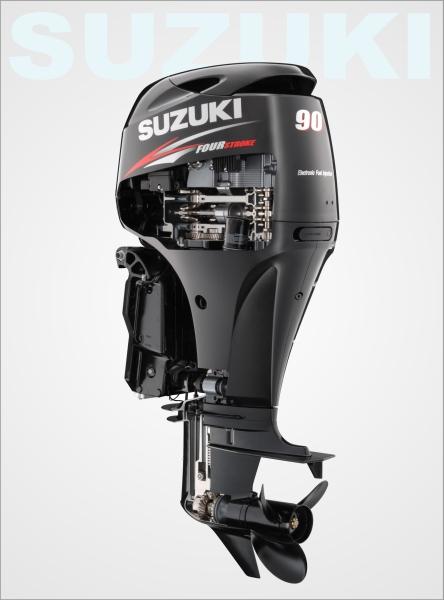 Lodný motor benzínový SUZUKI DF 90 AT