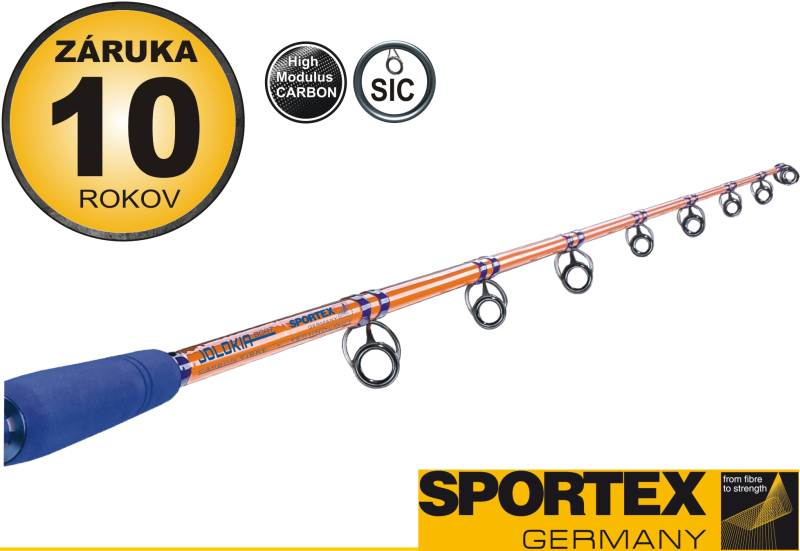 Rybársky prút-SPORTEX - Jolokia Boat - dvojdielny