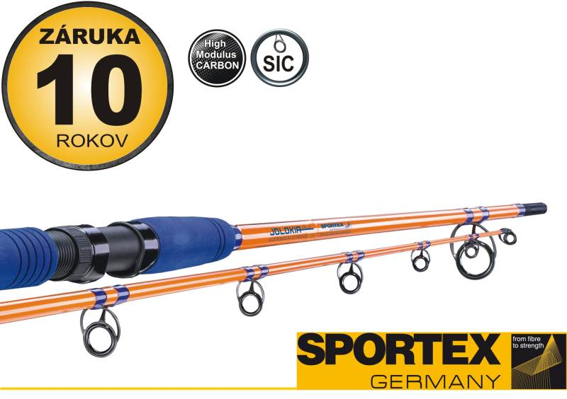 Rybársky prút-SPORTEX - Jolokia Pilk - dvojdielny