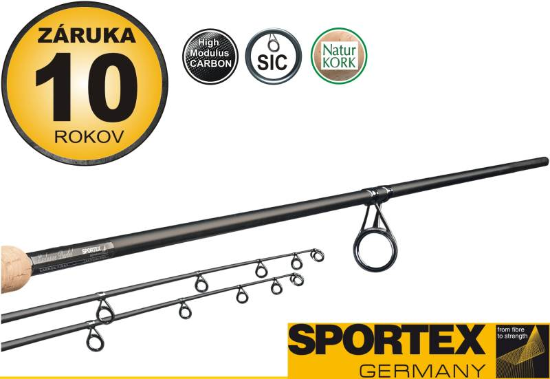 Rybársky prút SPORTEX - EXCLUSIVE Barbel - dvojdielny