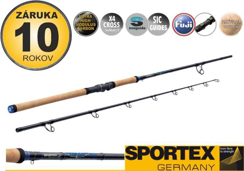 Sumcové prúty SPORTEX Top Cat Boje 2-diel 305cm / 200-500g