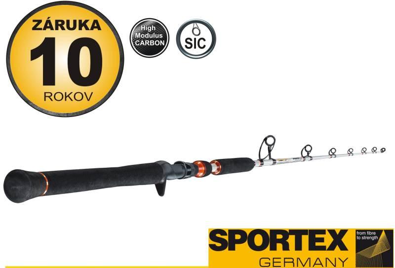 Rybársky prút-SPORTEX - Turbo Cat Vertical - jednodieln