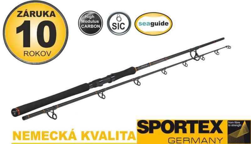 Sumcové prúty SPORTEX Catfire Boje 2-diel 270cm / 250-500g