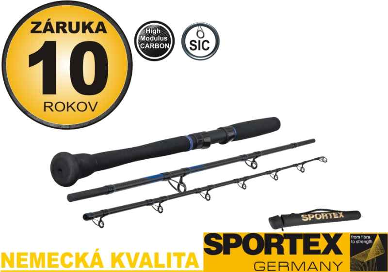 Prívlačový prút na more SPORTEX MAGNUS TRAVEL JIGGING
