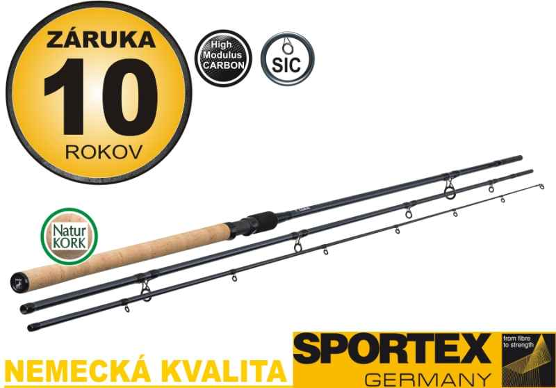 Match prúty SPORTEX XCLUSIVE FLOAT LIGHT NT 3-diel