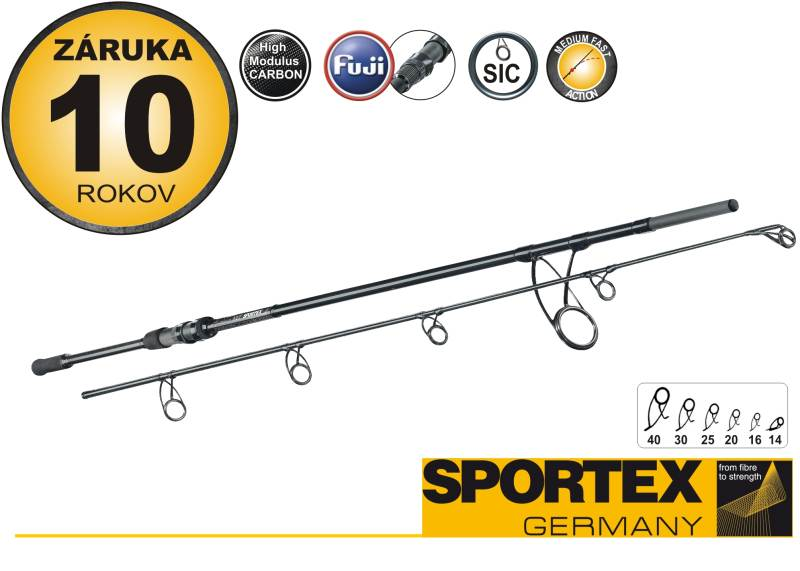 Rybársky prút - SPORTEX - Specimen NXT Carp