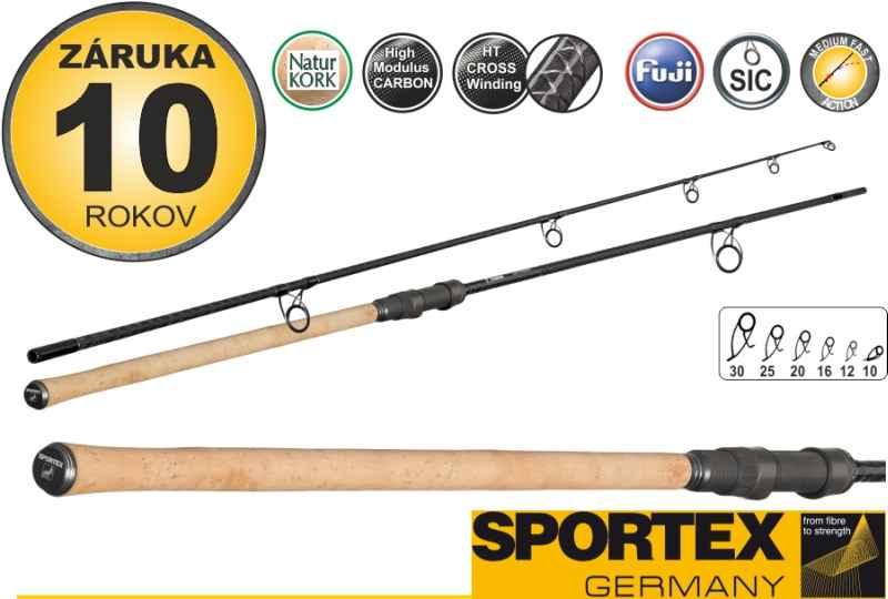 SPORTEX prút - MORION STALKER - dvojdielny 300cm /2,75 lb / 2diely