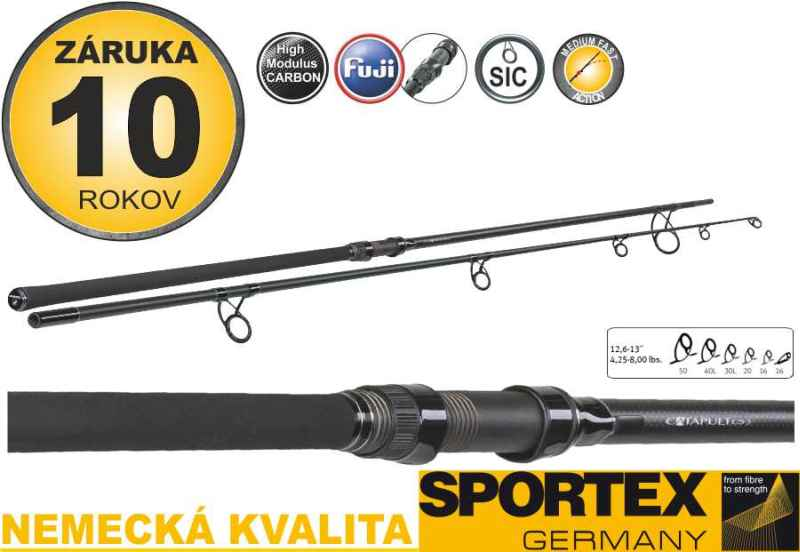 Prúty SPORTEX Catapult CS-3 MARKER 385cm/4,25lbs