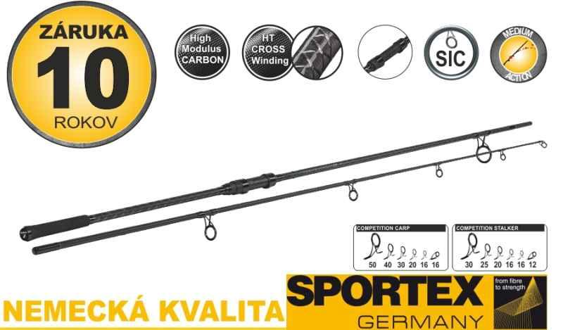 Kaprárske prúty SPORTEX Competition Carp CS-4, 2-diel