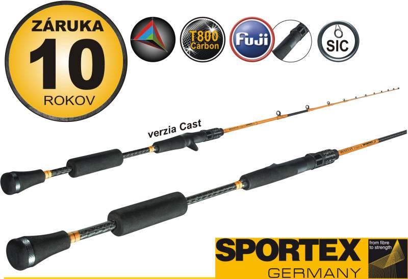Rybársky prút - SPORTEX - ABSOLUT Jiging Sea rods