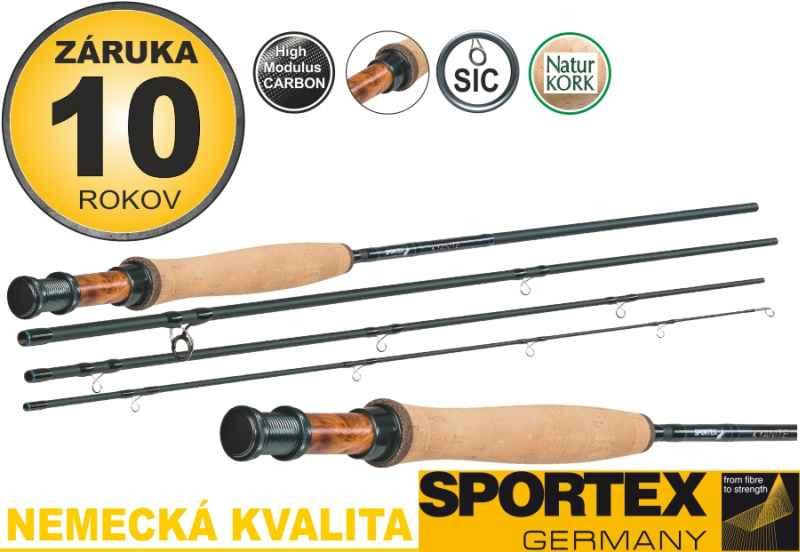 Muškárske prúty SPORTEX Kyanite Fly 4-diel
