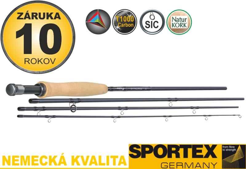 Muškárske prúty SPORTEX Synoris Fly 4-diel 260cm / aftma 3