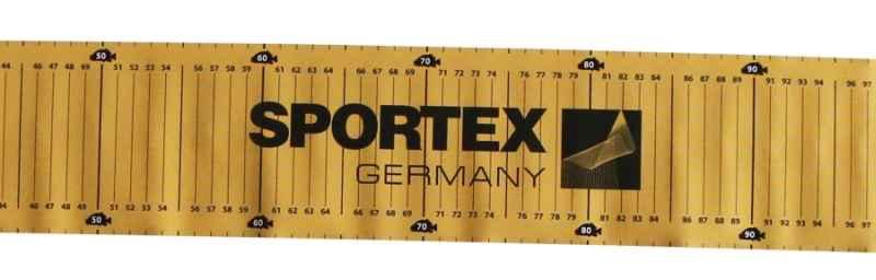 SPORTEX meter podložka na meranie úlovkov 140cm