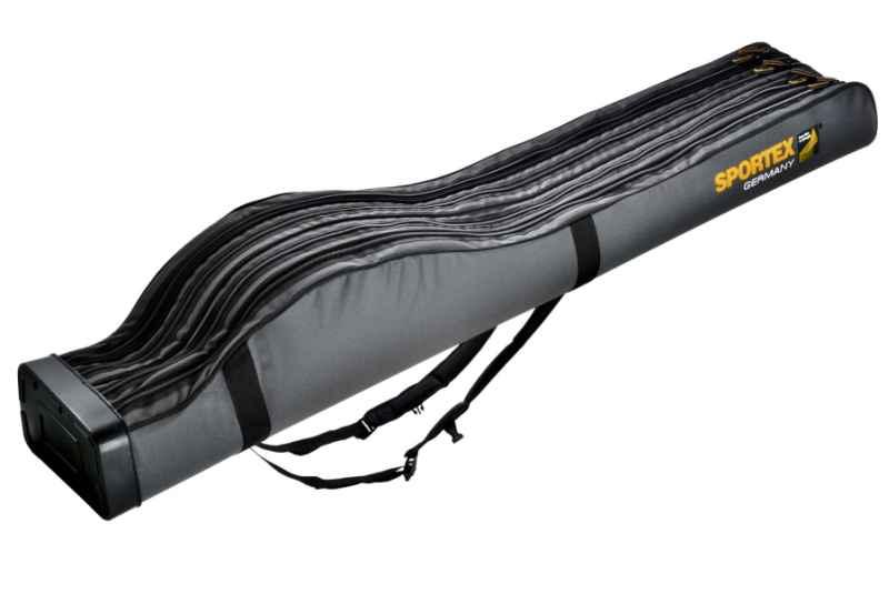 SPORTEX púzdro štvorkomorové Bags IV šedé 165cm