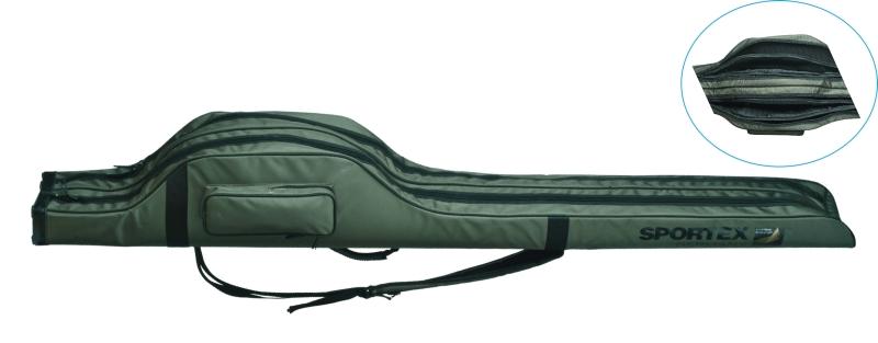 SPORTEX - púzdro SUPER SAFE dvojkomorové dĺžka 2,18m, na 4 prúty