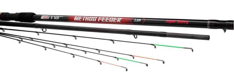 Method Feeder prúty Winner super heavy Dĺžka: 3,6m záťaž: 150g