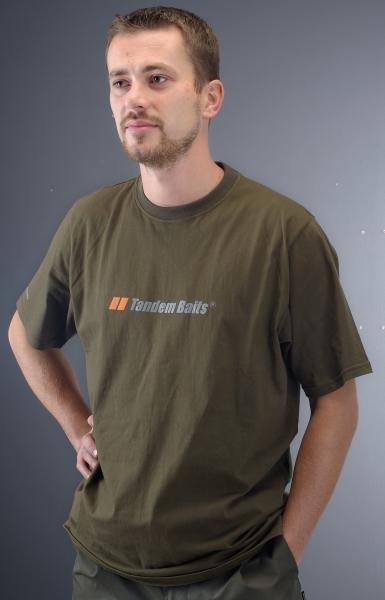 Tričko Tandem Baits krátky rukáv veľkosť Xl