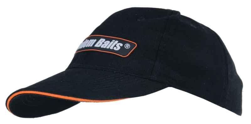 Šiltovka s logom Tandem Baits čierna