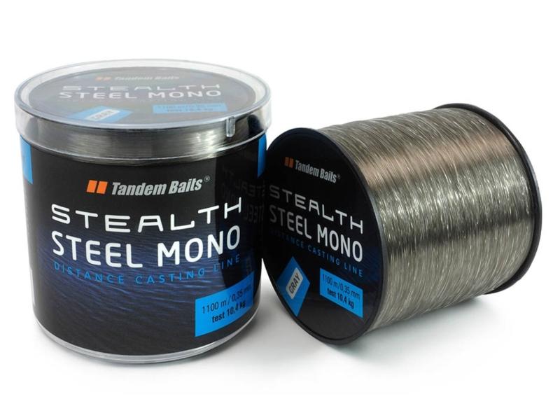 TandemBaits silon - Stealth Steel Mono pr. 0,35mm, 1100m