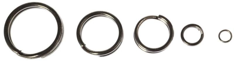 Krúžok z nehrdzavejúcej ocele - 10ks v balení
