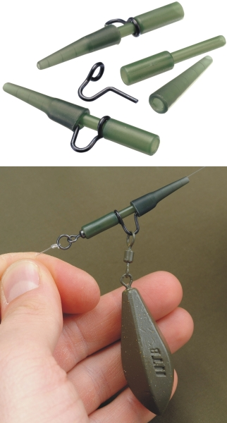 TANDEM BAITS FC Lead clip heavy dutty / 5 Weed