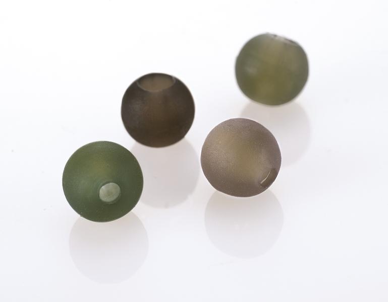 Beads with tapered bore - Gumová korálka - 15ks